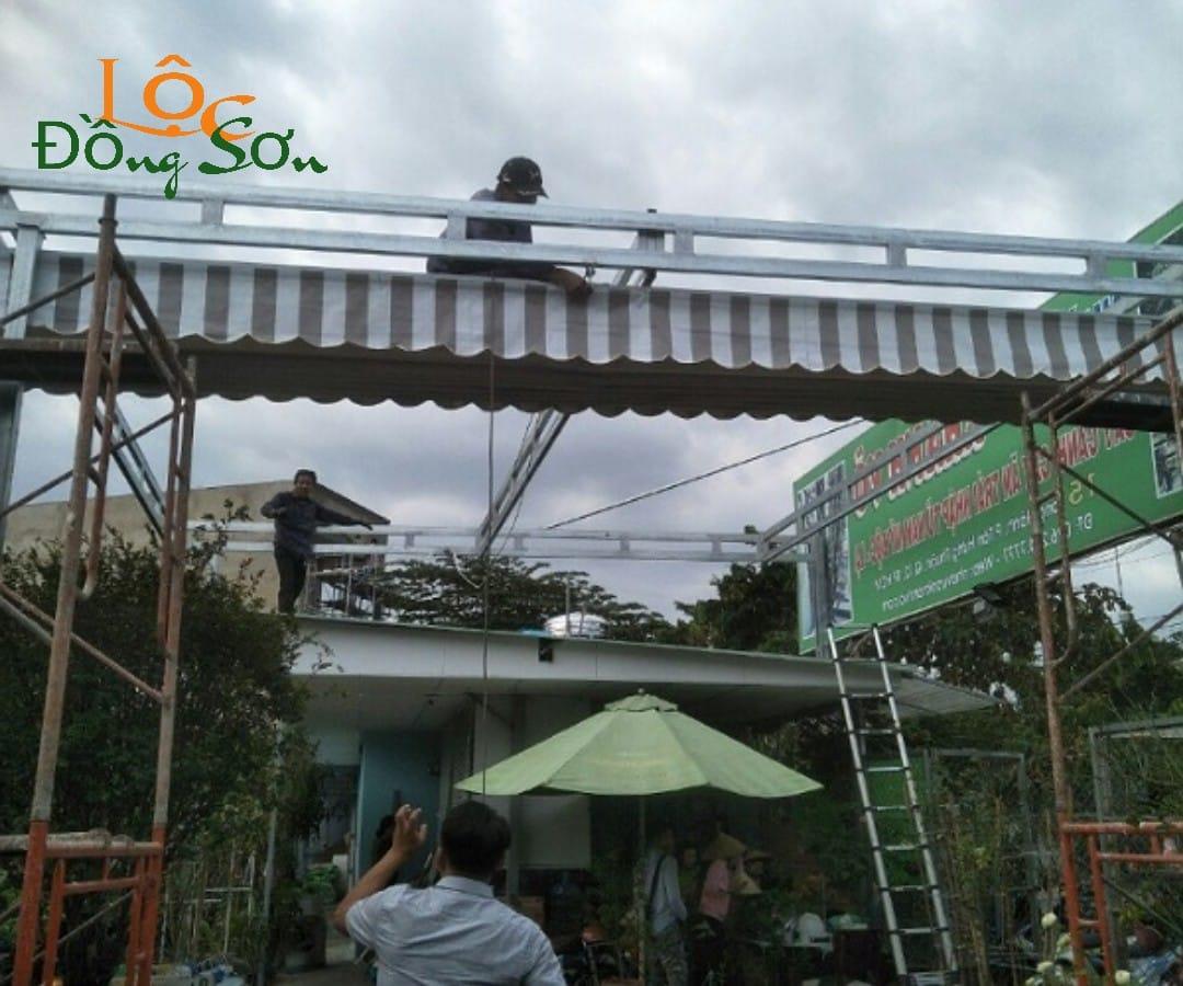 Thay Bạt Mái Xếp Di Động Quận Bình Thạnh, TP. HCM
