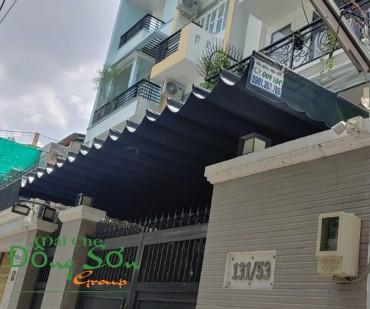 Thay Bạt Mái Che Di Động Quận 8 TpHCM Gía Rẻ.